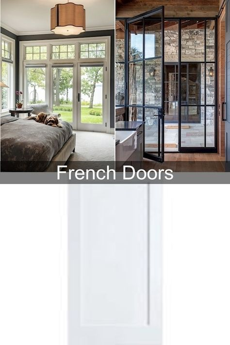 Oak French Doors Upvc