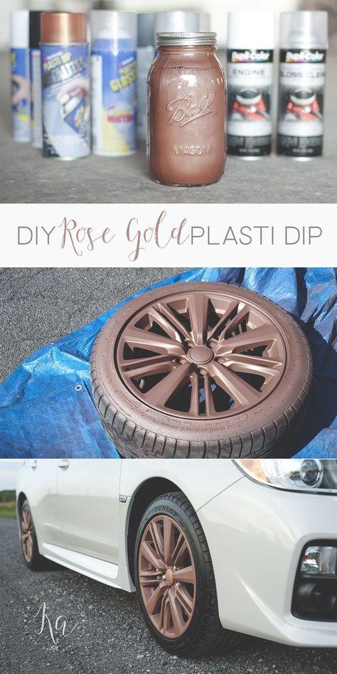 Gummispruhfarbe Plasti Dip Selbstgemachtes Auto Auto