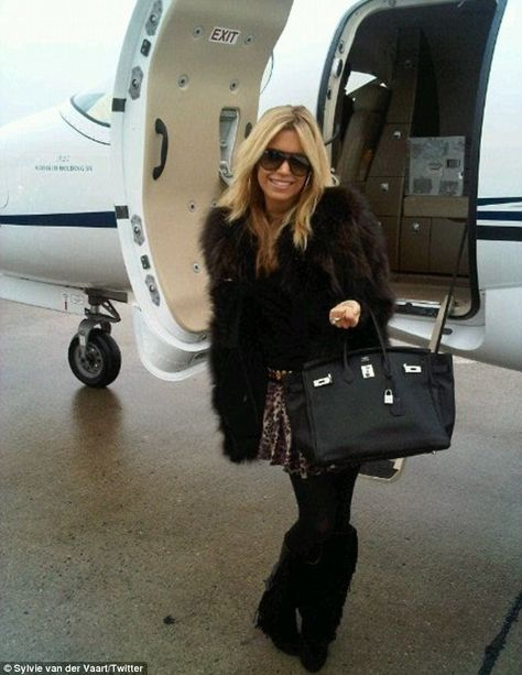 Sylvie van der Vaart love this outfit she can keep the fur though
