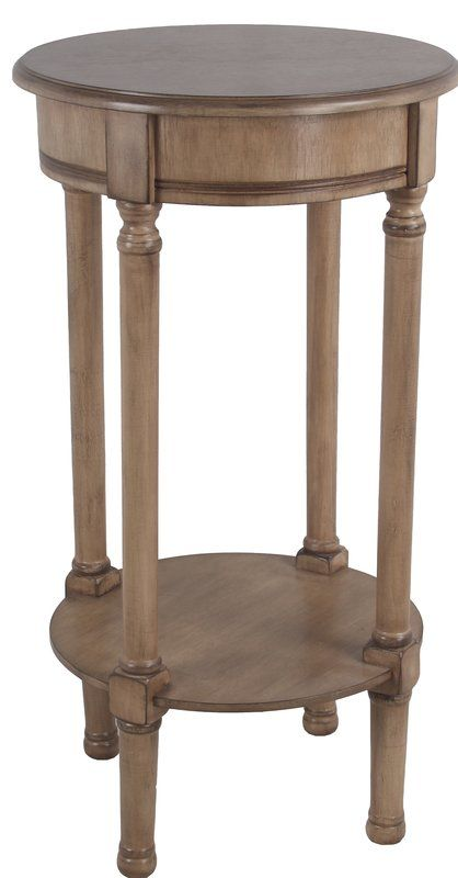Keisler End Table 28 inches high and 16 in wide | Round accent