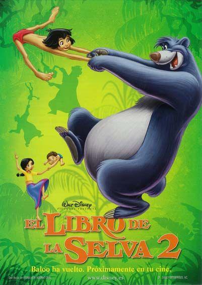 El Libro De La Selva 2 2003 Tt0283426 El Libro De La Selva Peliculas De Animacion Peliculas De Disney