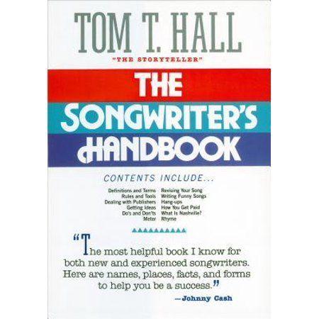 The Songwriter S Handbook Paperback Walmart Com Songwriting Great Song Lyrics Songs