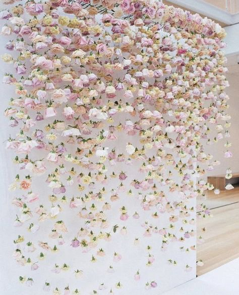 Blush Pink Floating flowers for Wedding Backdrop