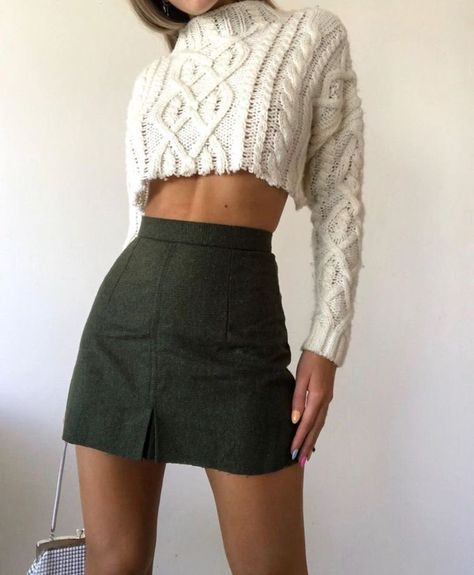 J October 25 2019 at fashion-inspo Girly Outfits, Trendy Outfits, Winter Outfits, Cute Outfits, Fashion Outfits, Womens Fashion, Fashion Fashion, Fashion Ideas, Summer Outfits