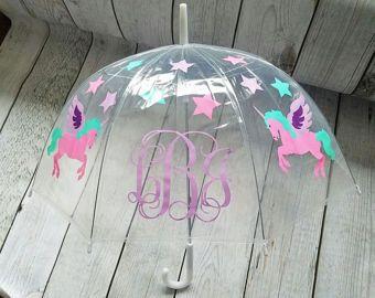 Magical Unicorn Childrens Umbrella