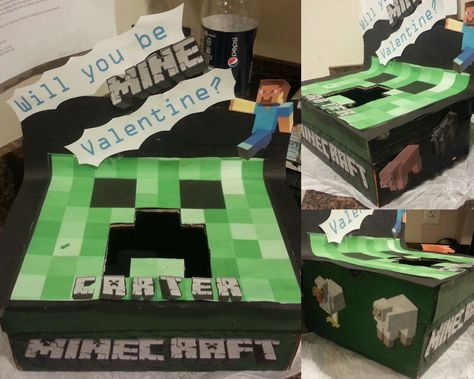 MineCraft Valentines Box