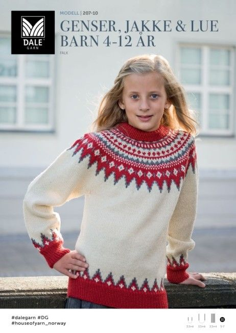 rød genser barn