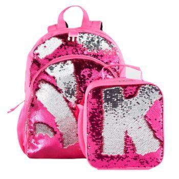 Kids Flip Sequins Backpack   Lunch Bag Set in 2019  6aae6bc12052f