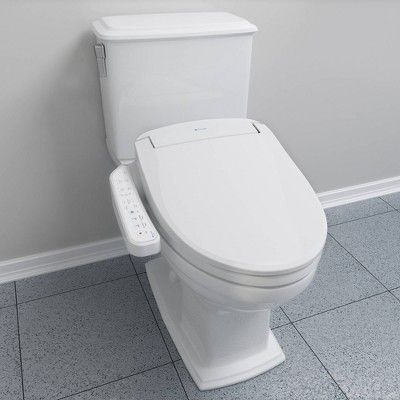 Swash Advanced Round Bidet Seat White Brondell Bidet Seat