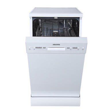 Electriq 10 Place Slimline Freestanding Dishwasher White