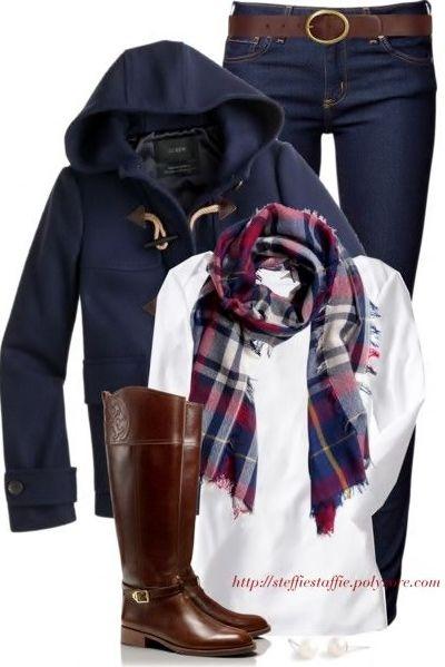 Cute winter style.