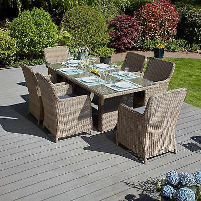13 Tlg Sitzgruppe Ria Gartenm Ouml Bel Rattan Garnitur Terrassen Set Gartenmobel Outdoor Lounge Mobel Gartentisch Set