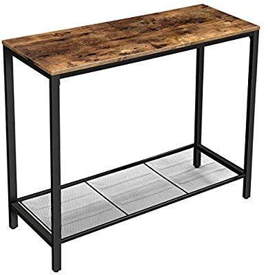 Amazon Com Vasagle Indestic Console Table Sofa Table Entryway