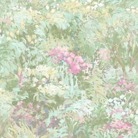 Seabrook Floral  Metallic Teal, Green, And Pink Wallpaper - Trade - Seabrook Floral  Metallic Teal, Green, And Pink Wallpaper / Floral / Metallic Teal, Green, and Pink