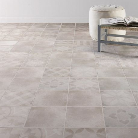 Carrelage Sol Aspect Carreau Ciment Bistro Gris Decor En Vente Sur Parquet Carrelage Com Specialiste Du Destockage Par Carrelage Sol Carreaux Ciment Carrelage
