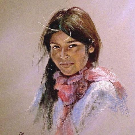 Epingle Sur Indiens 01 Femmes En Peinture Et Aquarelle
