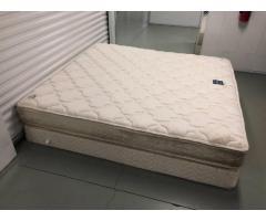 Serta Perfect Sleeper King Size Mattress With Box Spring King Size Mattress Used Bedroom Furniture Serta Perfect Sleeper