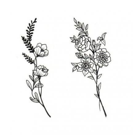 59 Trendy Flowers Tattoo Small Ear Tattoos Women S Tattoo Body Art Tattoos
