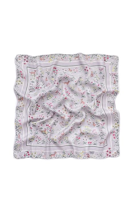 Vintage Liberty of London Floral Scarf