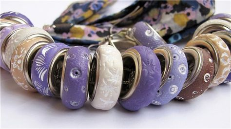 She uses large grommets--cool!
