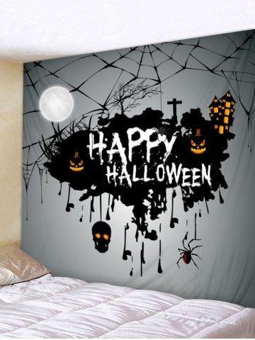 Halloween 2020 Theme Online Halloween Theme Print Tapestry Wall Art | Tapestry wall art