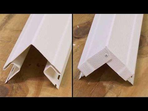 Installing Certainteed Vinyl Siding Accessories Youtube Vinyl Siding Installation Vinyl Siding Certainteed Vinyl Siding