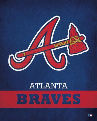 Rock 100 5 Becomes The New Fm Home Of The Atlanta Braves With Images Atlanta Braves Logo