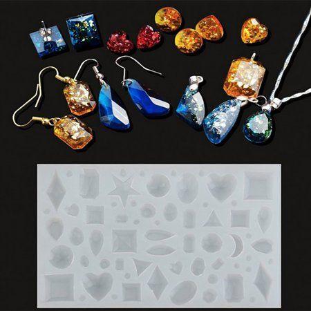 Sakura Silicone Mold Resin Jewelry Making Mould Epoxy Pendant Craft DIY Tool