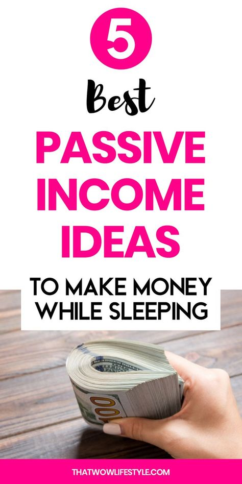 Best Passive Income Ideas For 2020