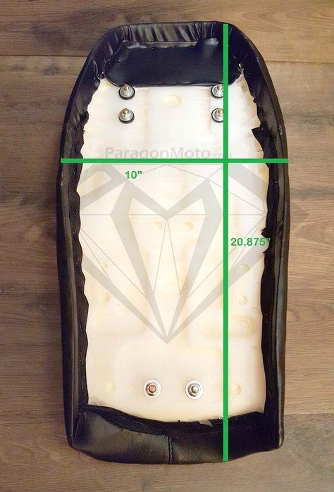 Black Custom TT Cafe Racer Hump Seat