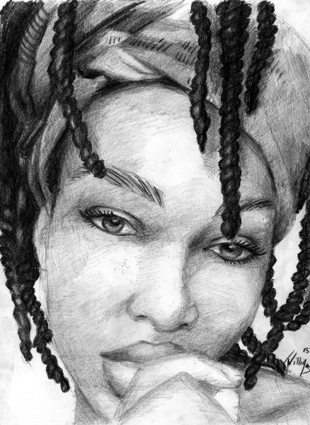 Dreadlock drawing google search dread lock art pinterest drawings google and black women art