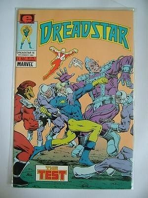 DREADSTAR no.16 December 1984 The Test MARVEL Epic Comics ref83,Please see full description and photo for condition report. Feel free to ask any questions. Thank you., #OtherA-Z