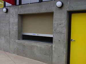 Exterior Service Roll Up Door Doors