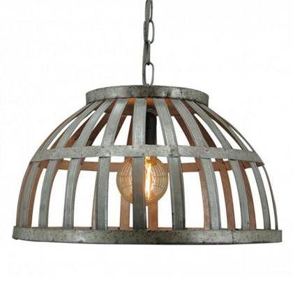 Toplicht Hanglamp Leon 48cm Hanglamp Industriele Hanglampen En Led Lamp