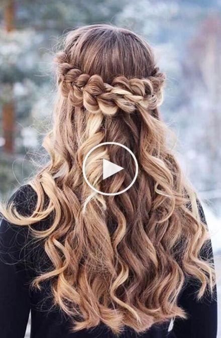 Best Hairstyles Graduation Grade 8 56 Hairstyles Ideas In 2020 Hair Styles Medium Length Hair Styles Braided Prom Hair