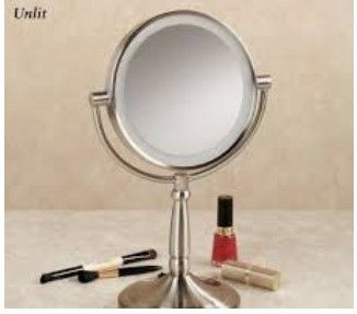 Led Lighted Vanity Makeup Mirror 5x Magnified Mirrors With Lights Portable C Lighted Magnifying Makeup Mirror Makeup Mirror With Lights Lighted Vanity Mirror