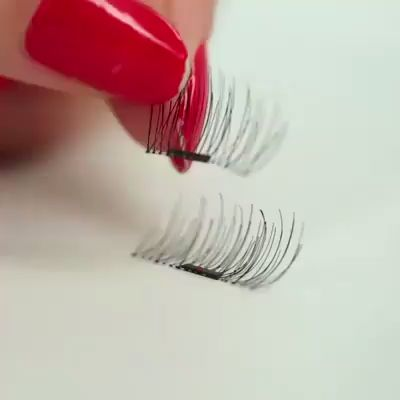 Get perfect, photoshoot ready lashes without the mess with our 3D Magnetic Eyelashes. Super easy and safe to apply so perfect for streamlining your beauty routine. For a limited time, it is 50% OFF but hurry, as supplies are limited!