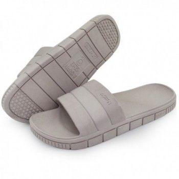 Men/'s Slippers Male Summer Slip On Casual Slippers Non Skid Sandals Bathroom