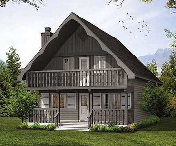 Plan 8812sh A Cozy Chalet In 2021 Country House Plans Cottage House Plans Cottage Floor Plans