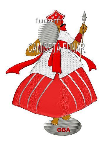 desenho foto orixa oba candomble umbanda by camiseta-funari, via Flickr