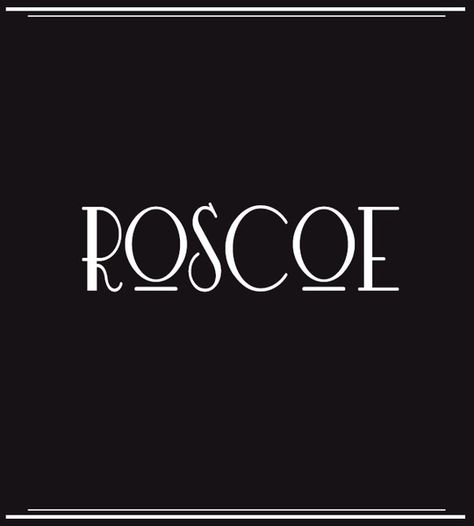 Roscoe - Baby Boy Names Inspired by Old Hollywood - Photos