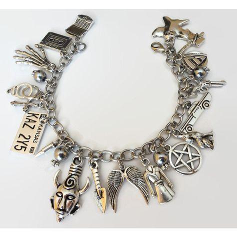 cb695bb0ed22 Supernatural Themed Charm Bracelet Dean