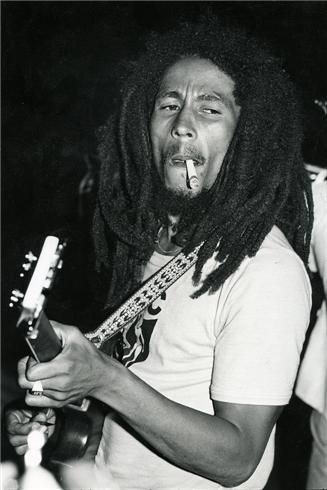 Bob Marley on his last tour in 1980. Photo by Kate Simon. (Yes, I do have an obsession with Bob Marley)