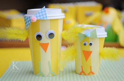 Fun with baby chicks from Katherine Marie (part 1)...
