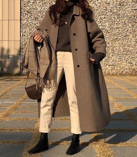 Fall Long Coat Outfit