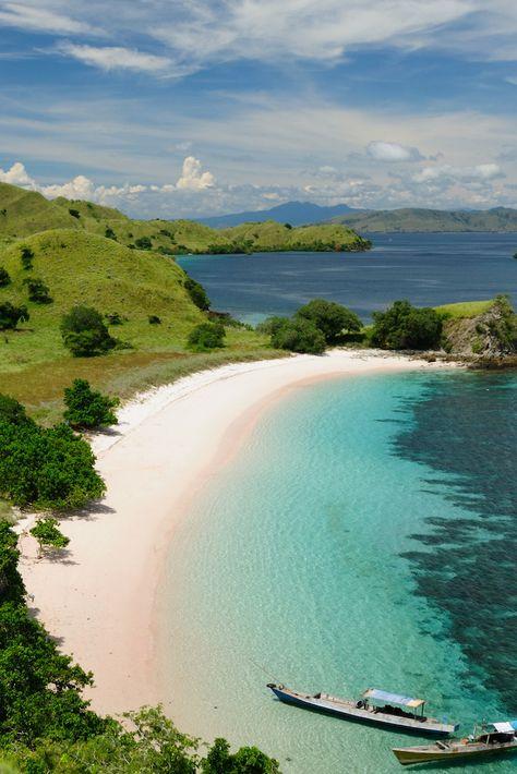 Pink Beach, East Nusa Tenggara, Indonesia