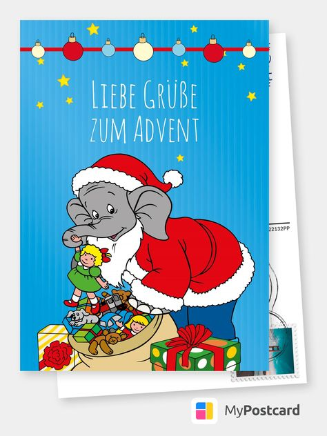 benjamin blümchen  adventszeit  comic  cartoons 🎭😜