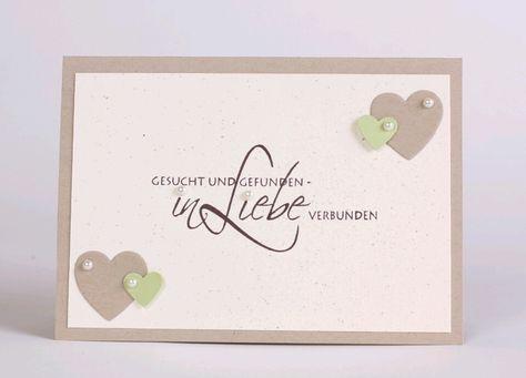 Gesucht und Gefunden - Einladung zur Hochzeit  von Stempeldorf auf DaWanda.com