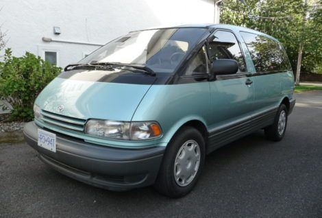 The Best Vintage And Classic Cars For Sale Online Bring A Trailer Toyota Previa Toyota Toyota Van
