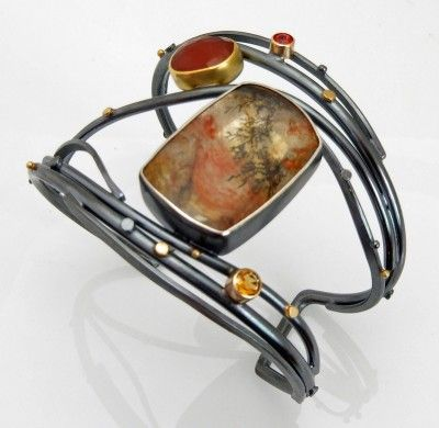 Forest Fire Twig cuff | Sydney Lynch